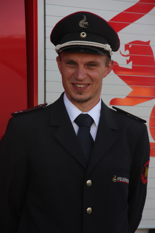 Abteilungskommandant Michael Haarer